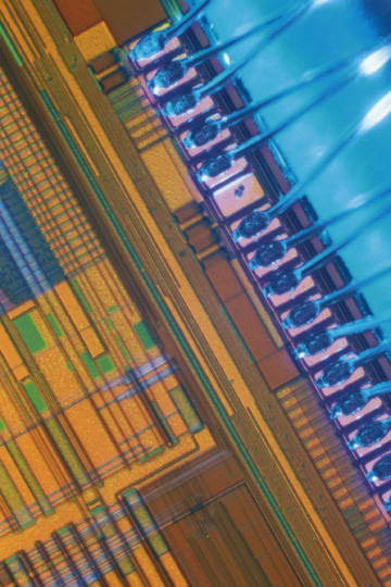 Thin Film Thickness on a Semiconductor Chip